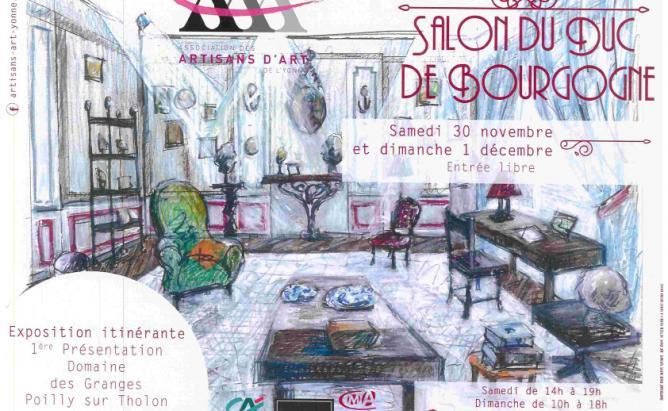 Le salon du Duc de Bourgogne